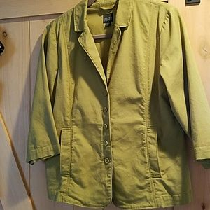 Eileen Fisher organic cotton blazer/jacket